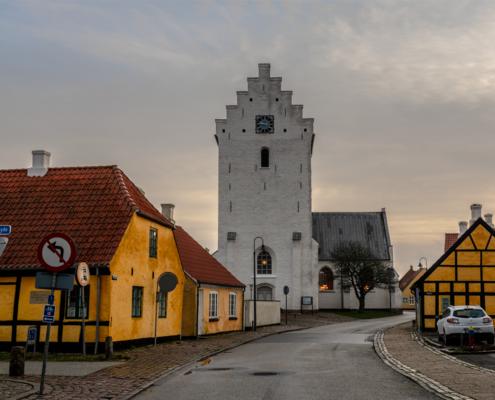 Algade Sæby foto og plakat af Sæby og kunst af Nordjylland Speciel lavet plakat i mange størrelser og unikke størrelser og motiver af Aalborg, Frederikshavn og Nordjylland Sæby